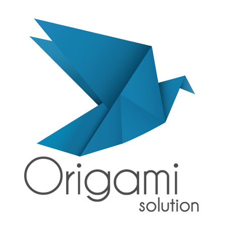 Logo origami solution Gilles Guigon